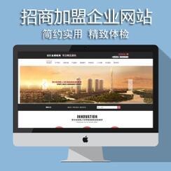 招商加盟行业网站解决方案